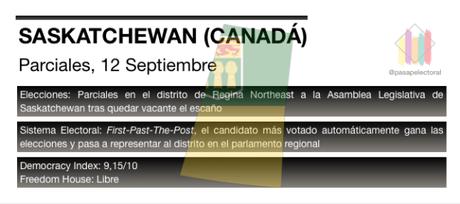 El Partido de Saskatchewan vuelve a medir su fuerza en las urnas con la vista puesta en las elecciones de 2020