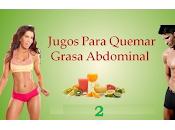 Jugo reductor cintura abdomen