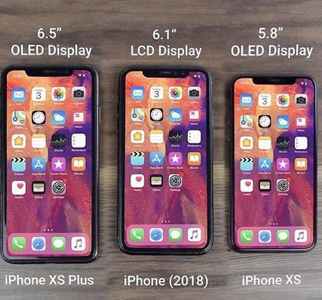 Filtrados los nombres de los nuevos iPhones 2018: iPhone XS, iPhone XR, iPhone XS Max