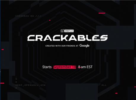 Crackables, nuevo juego de OnePlus y Google