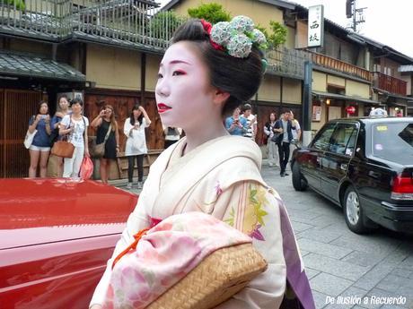 En busca de una geisha en Kioto