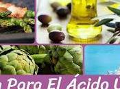 Dieta eficaz para bajar acido urico gota 2018