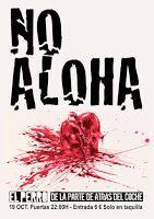 Concierto de No Aloha en El Perro de la parte de Atrás del Coche