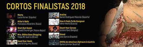 B-Retina 2018, Cortos Finalistas