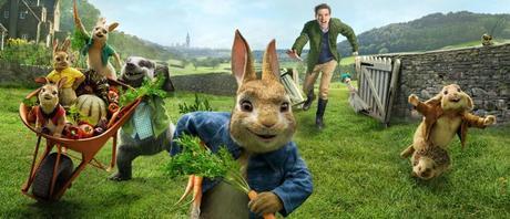 Peter Rabbit 2018 en cines para público infantil