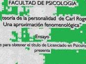 Ensayo teoría personalidad rogers