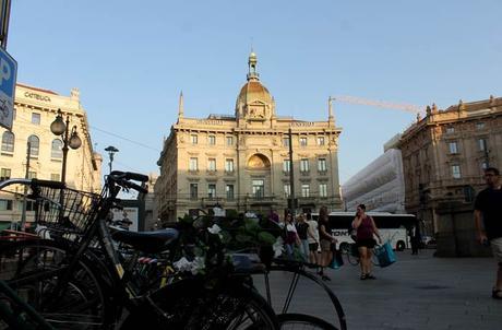 Final de la Via Dante qué ver en Milán