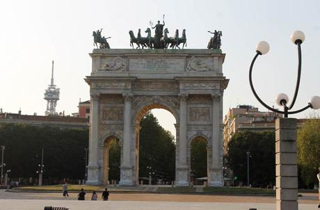 Arco della Pace qué ver en Milán
