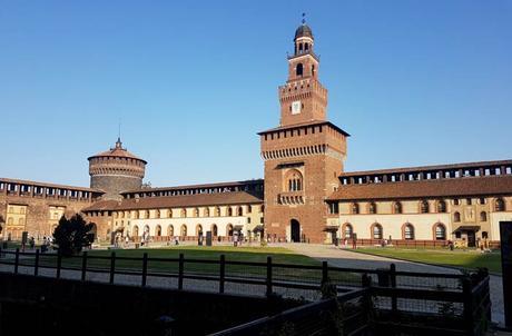 Castillo Sforzesco qué ver en Milán