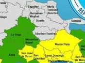 incluye Bahoruco, Pedernales Independencia entre provincias bajo alerta remanentes Isaac.