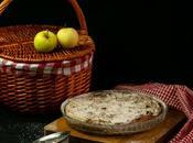 Pastel fresco manzana