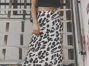 Trend alert: como combinar animal print leopard midi skirt style: (video)