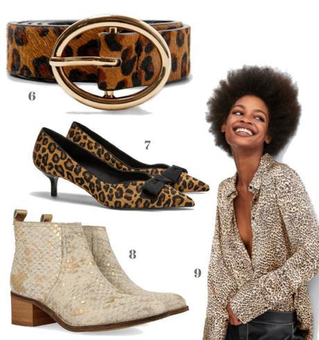 botas botines gioseppo ropa y zapatos de nueva temporada estampadado animal print style tendencia