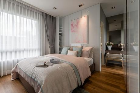 ropa de cama rosa