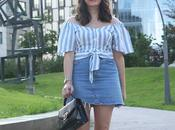 Outfit verano rayas