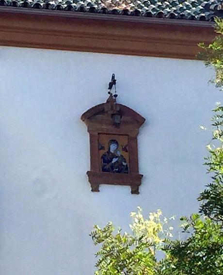 La Virgen del Perpetuo Socorro de la Plaza de los Refinadores.