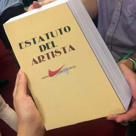 Informe del Estatuto del Artista