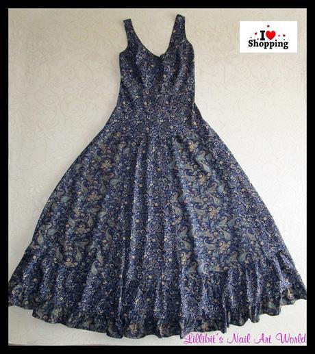 Manicura para mi vestido azul
