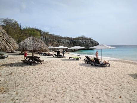 Algunas playas en Curazao