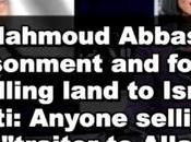 apartheid palestino: detenidos palestinos vender tierras judíos/israelíes.