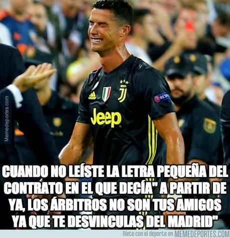 ▷ Los mejores memes sobre la expulsión 😱😱😱 de Cristiano Ronaldo vs Valencia