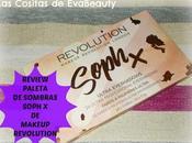 Review Paleta sombras Soph Makeup Revolution