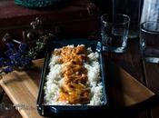 Curry gambones arroz