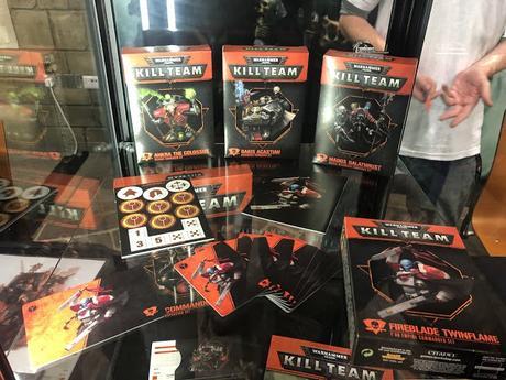 Kill Team Commanders presentado en Warhammer World (Editado)