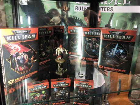 Kill Team Commanders presentado en Warhammer World (Editado)