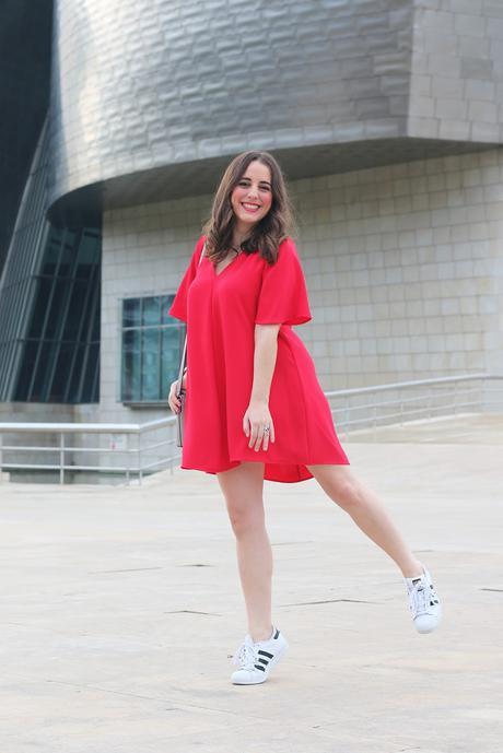 Outfit Sportychic Con Vestido Rojo Paperblog