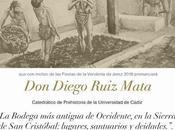 """CÁTEDRA VINO: miércoles septiembre 2018: bodega antigua Occidente, Sierra Cristóbal: lagares, santuarios deidades"""" Diego Ruiz Mata"""