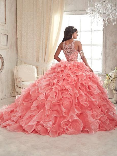 Colores de vestidos de 15 años 2018- Fotos