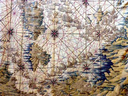 El geómetra del Real Alcázar de Sevilla