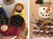 Aprende cómo hacer muñequitos navideños piñas pino