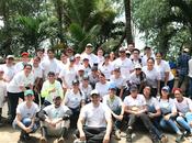 Morgan Bank unen Limpieza Playas, Costas Ríos 2018