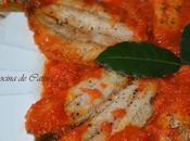 Sardinas tomate