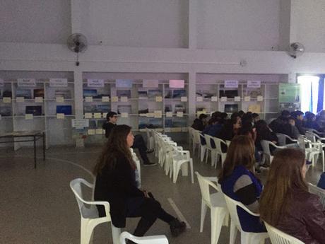 JORNADA DE DISERTACIÓN EN LA ESCUELA DE EDUCACIÓN TECNICA N° 2 DE LA CIUDAD DE CAMPANA - BS. AS.