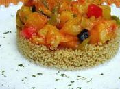 Cous verduras salsa menta