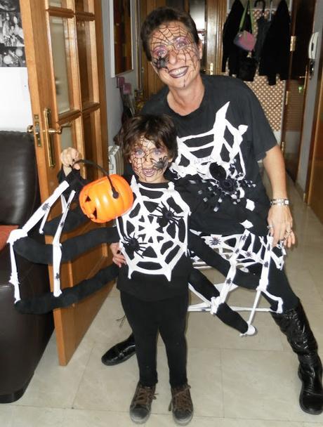 Taller De Cocina Y Halloween Disfraz De Arana Paperblog - Disfraz-de-araa-casero