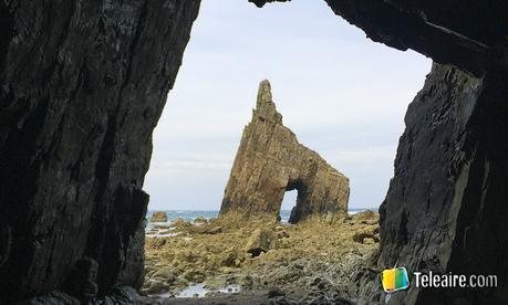 playa de campiecho en valdes