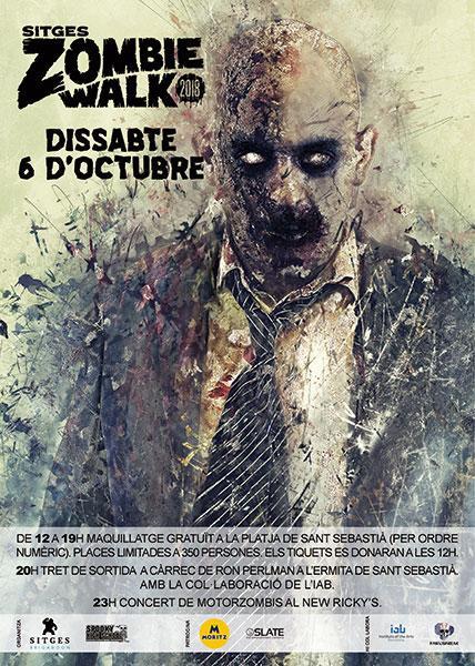 Sitges 2018; Red Carpet y spot zombie walk