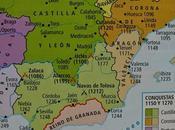 EJEMPLO COMENTARIO MAPA HISTÓRICO CORREGIDO, AVANCE RECONQUISTA PENÍNSULA IBÉRICA DURANTE SIGLOS XIII, HISTORIA ESPAÑA BACHILLERATO