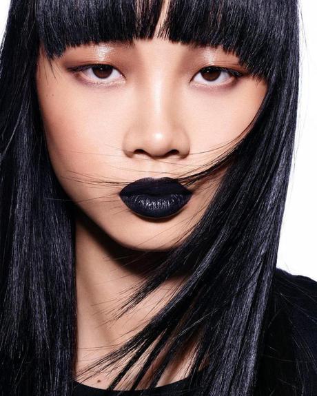 El labial negro y la nueva paleta de iluminadores de Fenty Beauty
