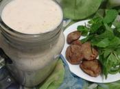 Smoothie figues sèches menthe dried figs mint smoothie batido higos secos menta عصير التين المجفف النعناع