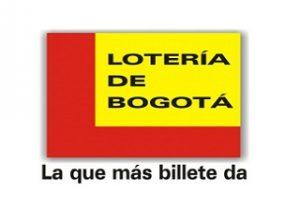 Lotería de Bogotá jueves 4 de octubre 2018 Sorteo 2460