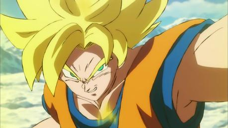 Goku en Dragon ball super: Broly