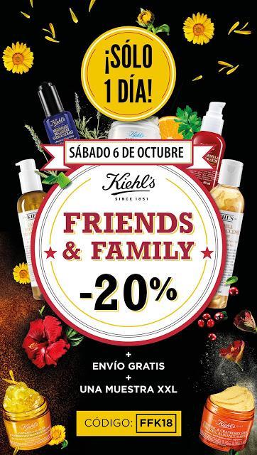¡LLEGA UN NUEVO FRIENDS & FAMILY A KIEHL'S!