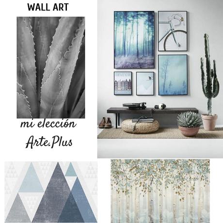 Decorar con lienzos, Arte en mis paredes