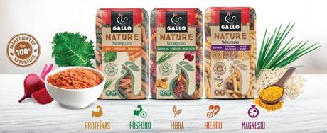 Probando la pasta multiingrediente y multicolor de GALLO NATURE (proyecto de TRND)