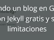 Crear blog personal Github posible sencillo